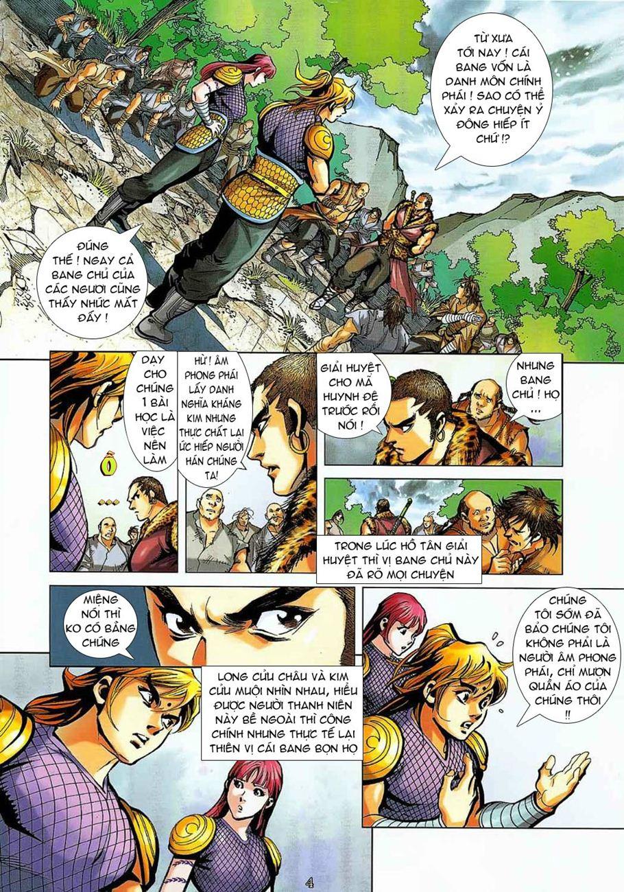 Thần Chưởng Long Cửu Châu chap 8 - Trang 4