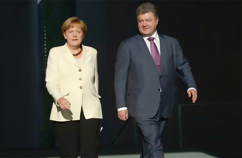 German Chancellor Angela Merkel visited Kyiv with a formal call