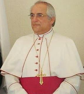 Programação da visita de S.Ex.ª Rev.ma Dom Giovanni d'Aniello, Núncio Apostólico no Brasil.