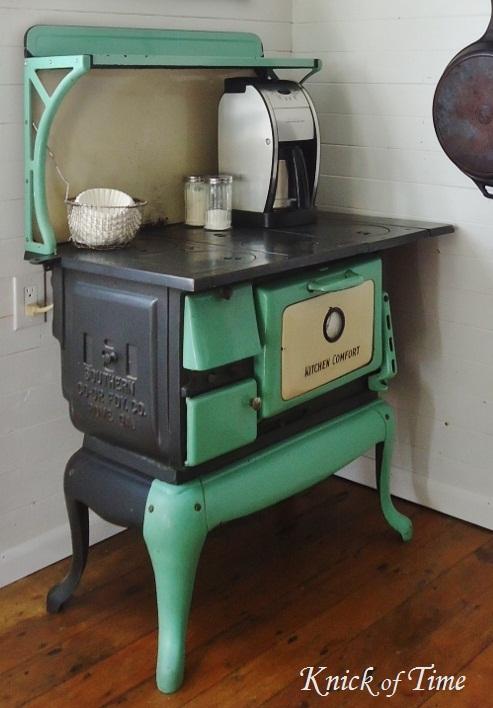 Passing it Down | Antique Farmhouse Kitchen Stove | Knick ...