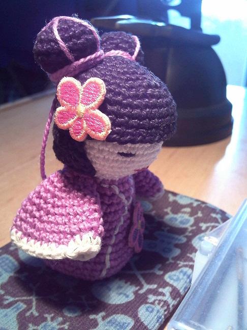 Kokeshi En Amigurumi : Rinconcito de Hada Nocturna: Kokeshi crochet amigurumi 2011