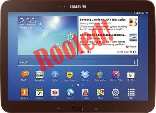 how to root galaxy tab gt p