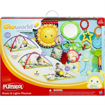 NEW Playskool Gloworld Music & Lights Playmat