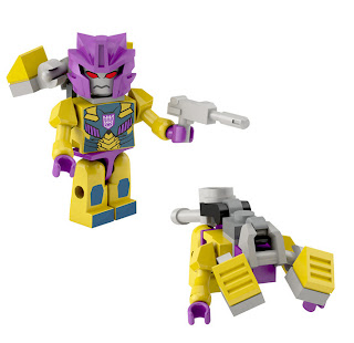 Hasbro Transformers Kre-O Micro Changers Combiners Series 2 - Sinnertwin (Terrorcons)