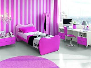 decoração quarto da barbie