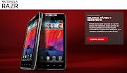 Teléfonos celulares: Motorola Razr