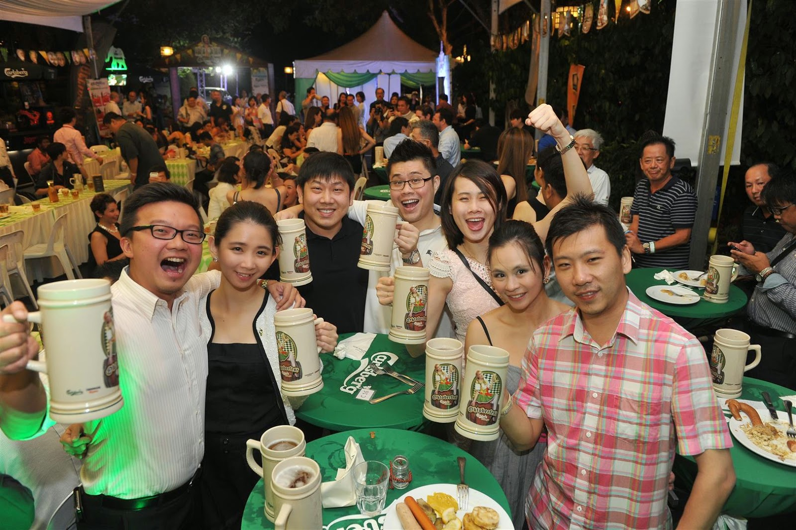 Carlsberg Oktoberfest 2014 Launch - Mistah Fong