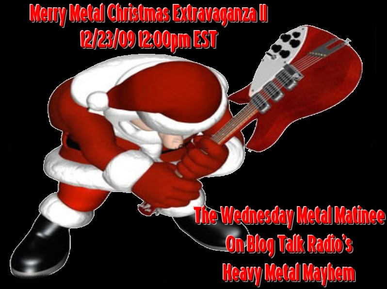 The heavy metal mayhem radio show merry