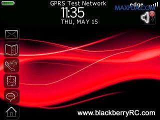 1 111012095K3405 RED Precision Zen themes for BB 81xx,83xx,88xx