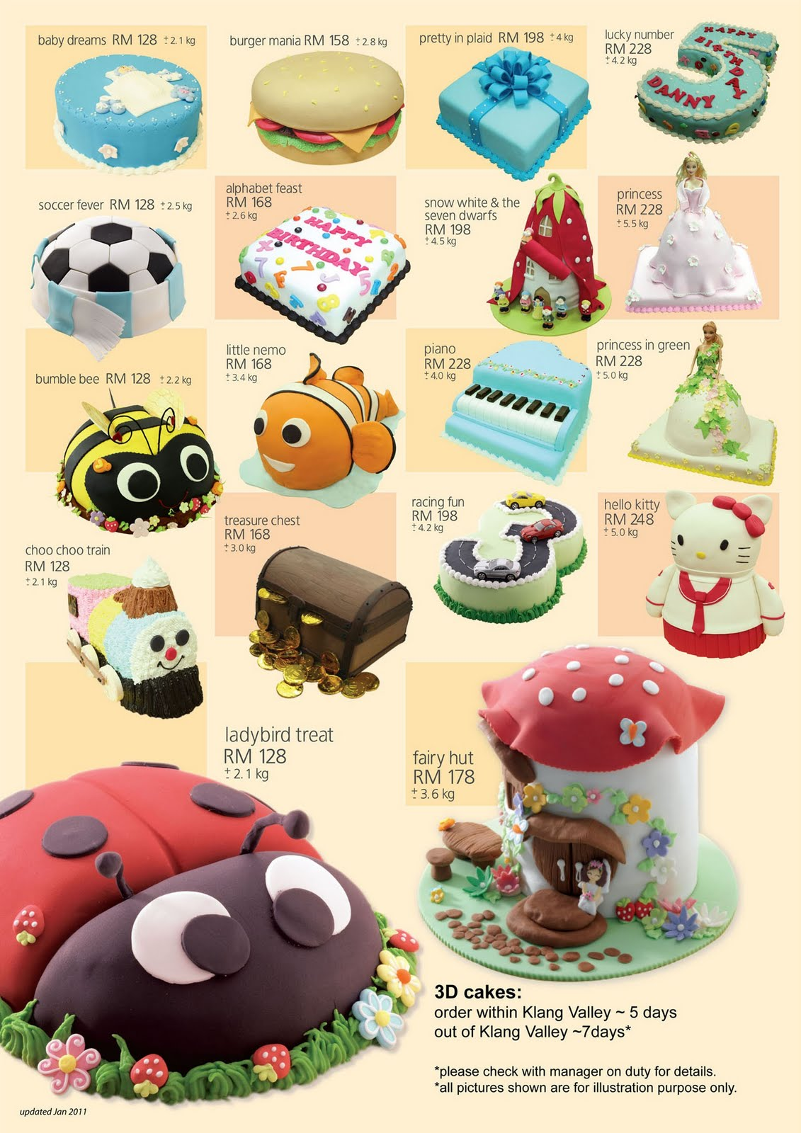 Secret Recipe 3d Cake