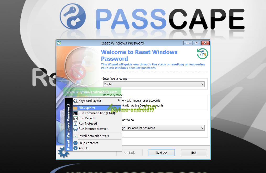 Reset Windows Password kuyhaa