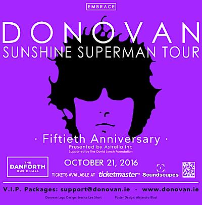 Donovan @ Danforth Music Hall, Friday