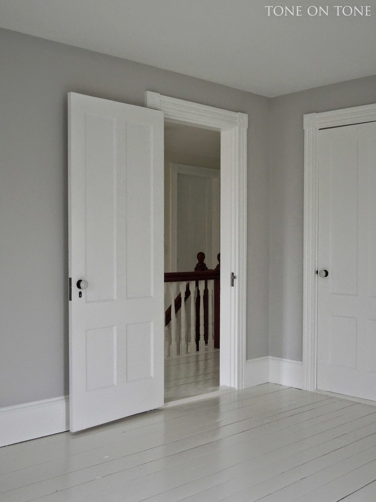 Tone on tone sharing paint colors and more Paint colors that go with grey flooring