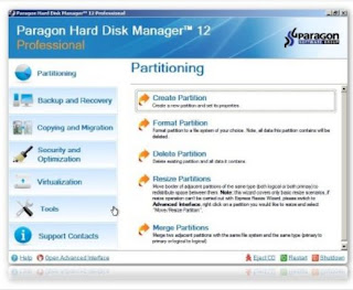 paragon disk manager 12 professional portable