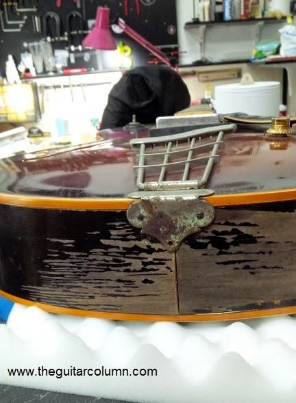 gibson es-175 restoration