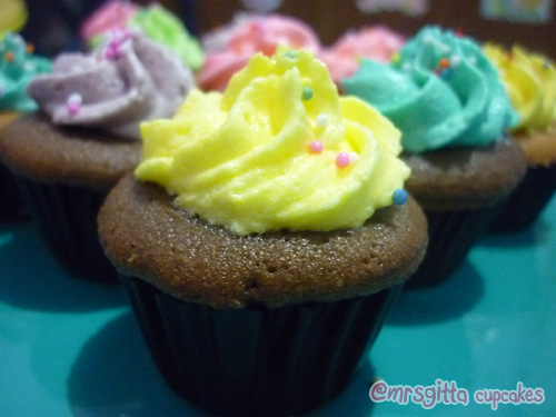 Kuliner Bogor - @mrsgitta Cupcake, Cupcake unik dari Bogor