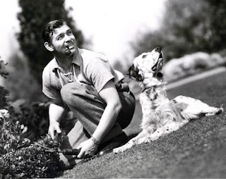 Clark Gable dog