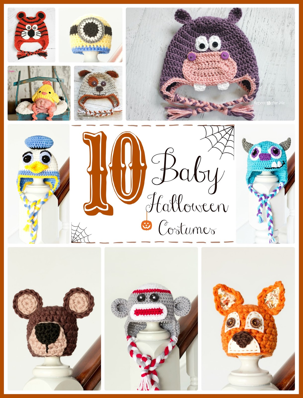 Free Crochet Patterns For Baby Halloween Costumes : Hopeful Honey Craft, Crochet, Create: 10 Free Halloween ...