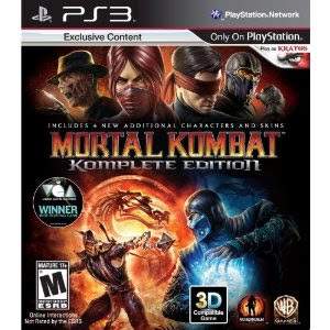 Mortal Kombat Komplete Edition PS3/Xbox