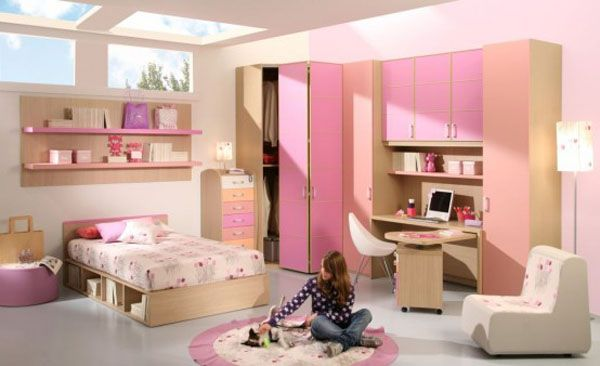 Girls Bedroom Decorating Designs