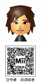 檜山修之のMii QRコード トモダチコレクション新生活