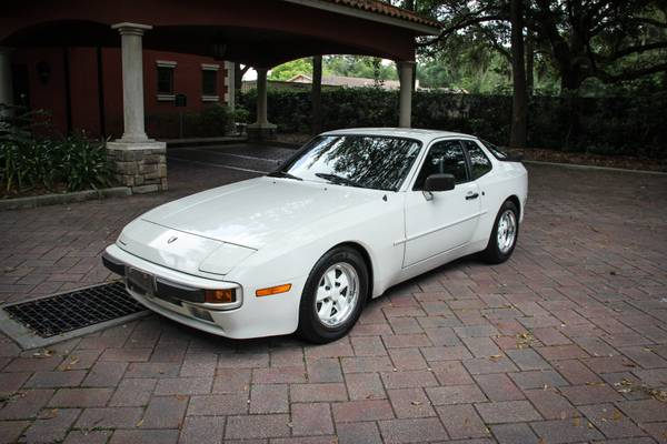 mint condition 1984 porsche 944 auto restorationice. Black Bedroom Furniture Sets. Home Design Ideas