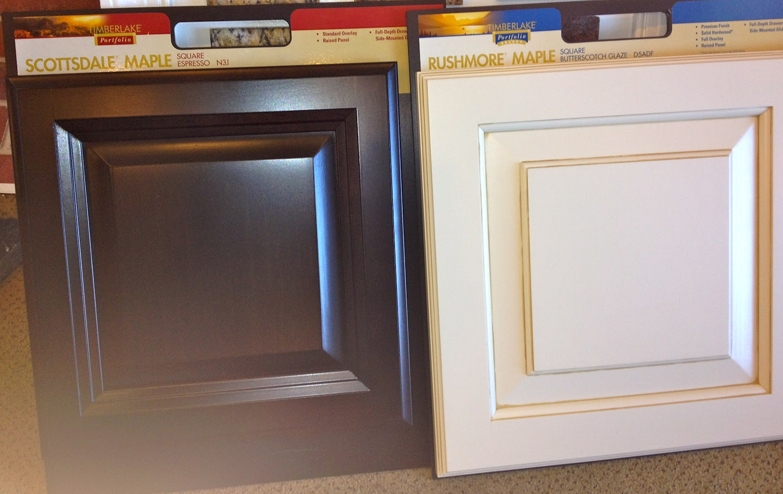 Two Color Kitchen Cabinets