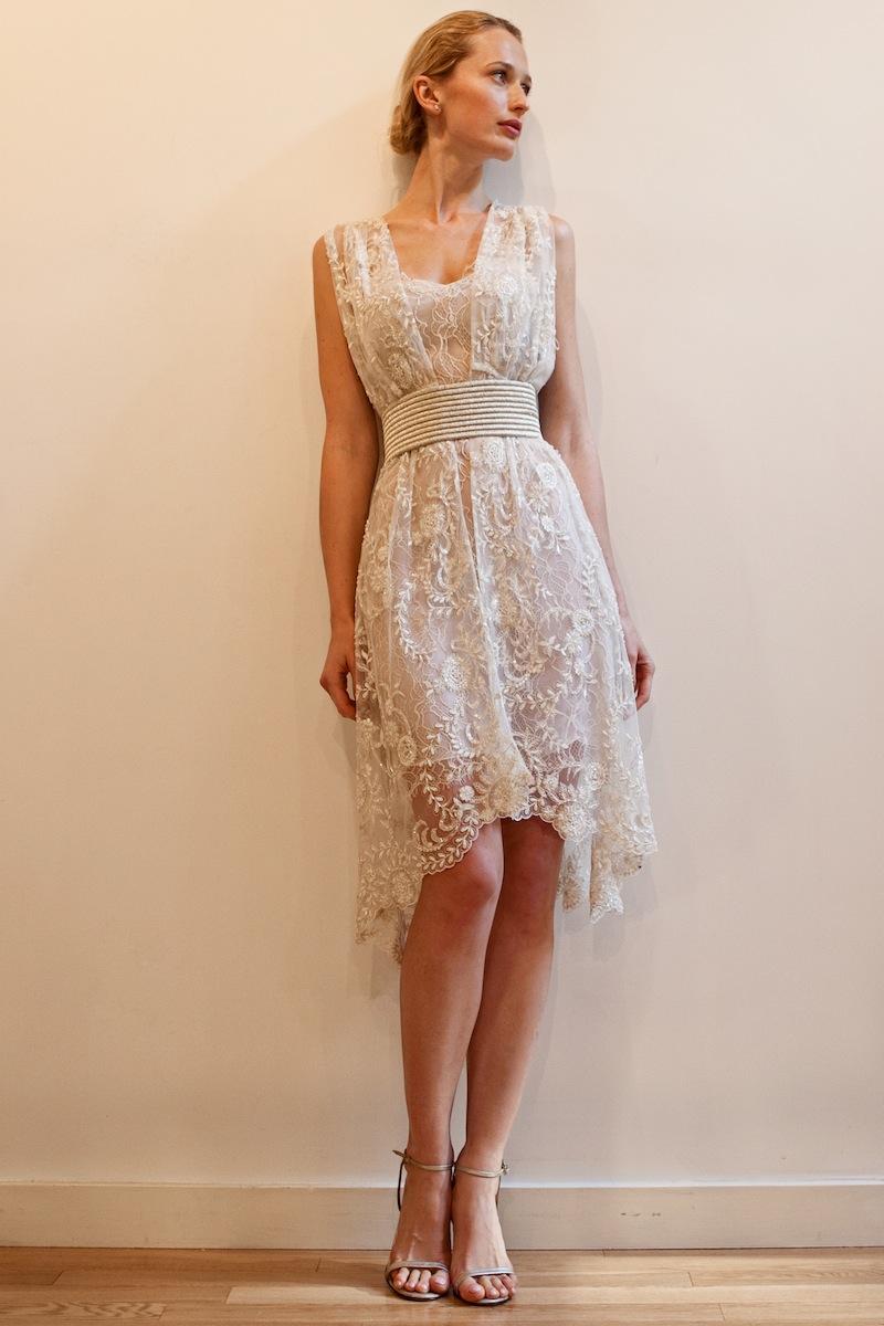 Sommer-Strand-Hochzeitskleid für den Menschen