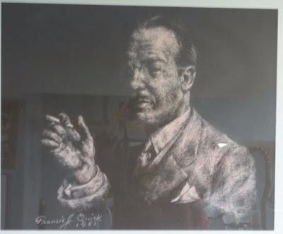Pastel Portrait by Francis Quirk