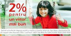 2% pentru un viitor mai bun!