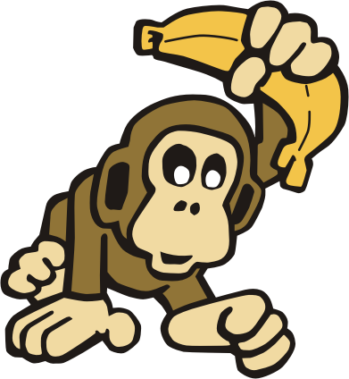 monkey cartoon wallpaper - photo #37