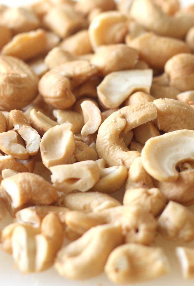 chopped cashews