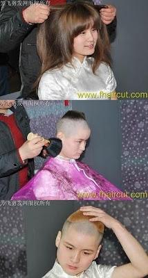Gaya Rambut Aneh Cewek Jepang