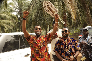 D'banj rocks Igbo attire
