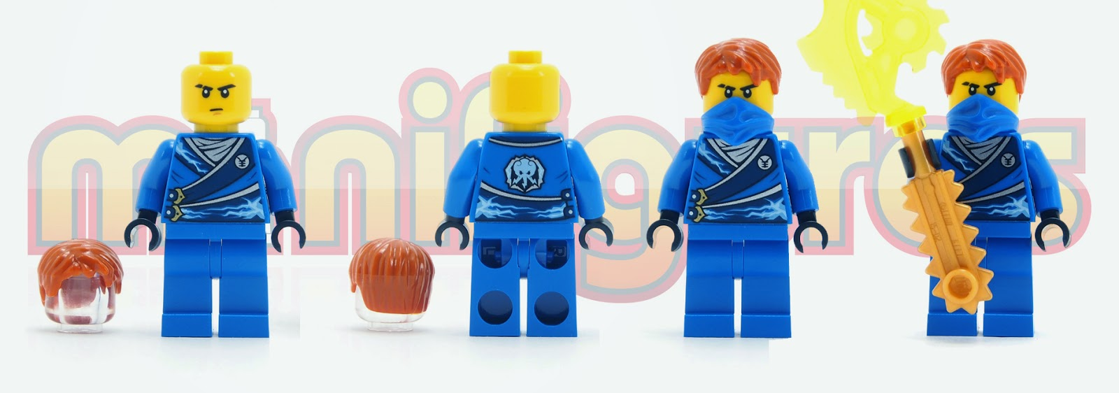 Lego Minifigure Ninjago Jay Rebooted NEW