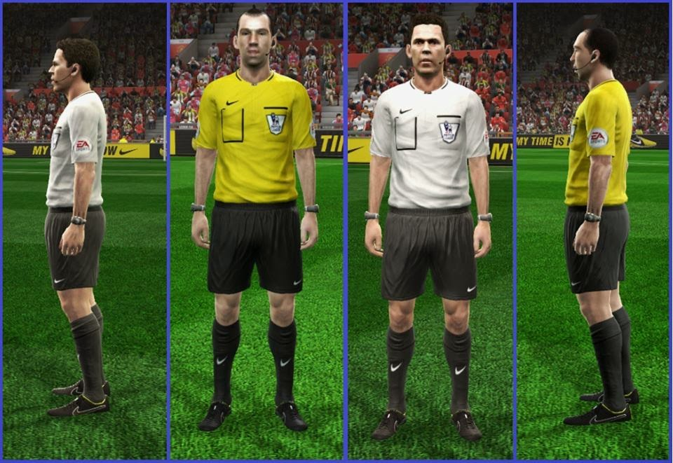 PES 2013 Referee Kits EPL 14-15 by HendriSimZ