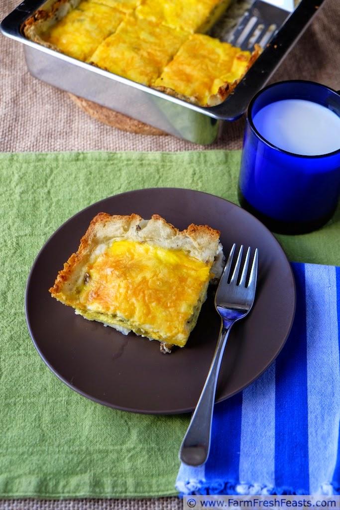Hatch Chile, Egg & Potato Casserole | Farm Fresh Feasts