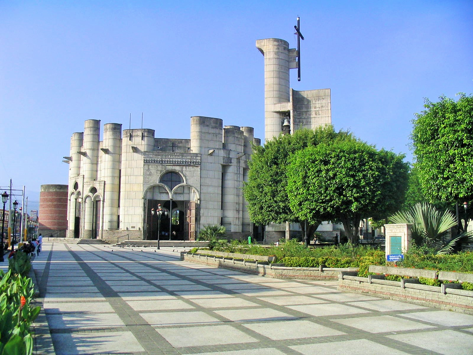 Catedral y Parque de La Vega, R.D.