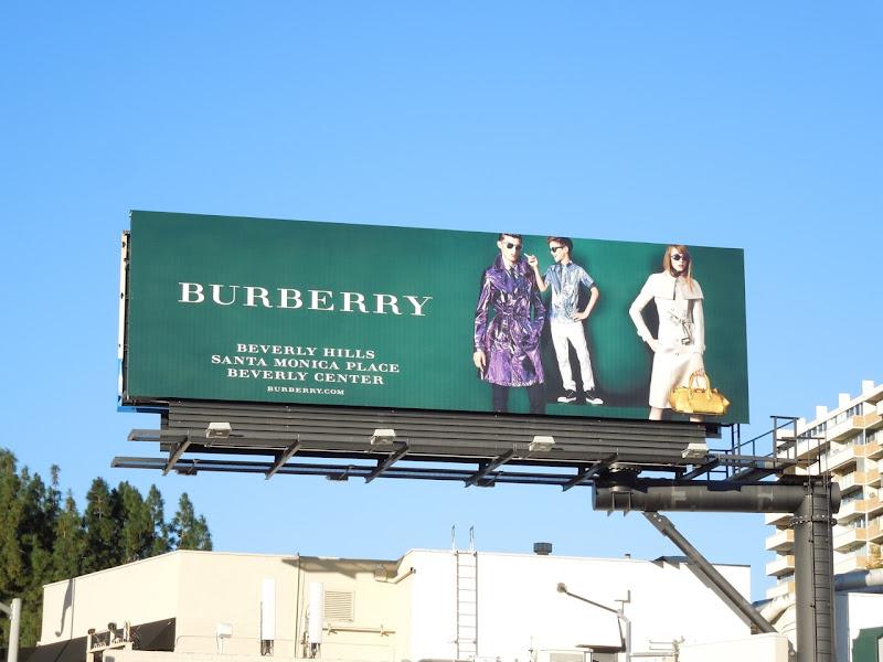 Burberry Romeo Beckham SS 2013 billboard