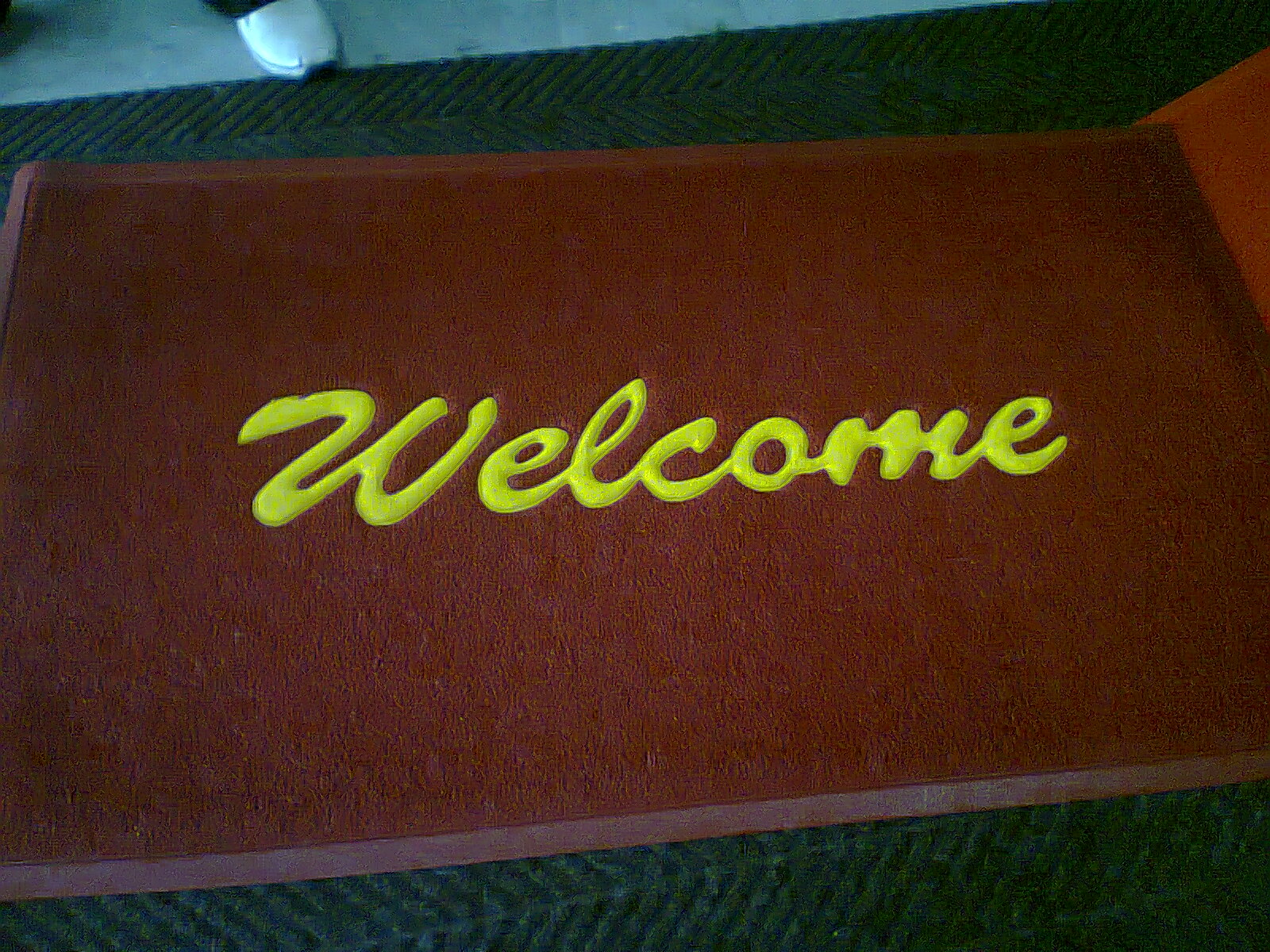 Designing Your Identity WELCOME CARPET WELCOME KARPET