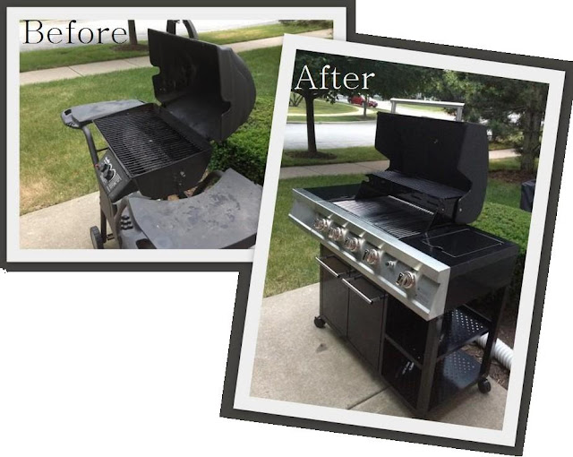 Before and After Grill
