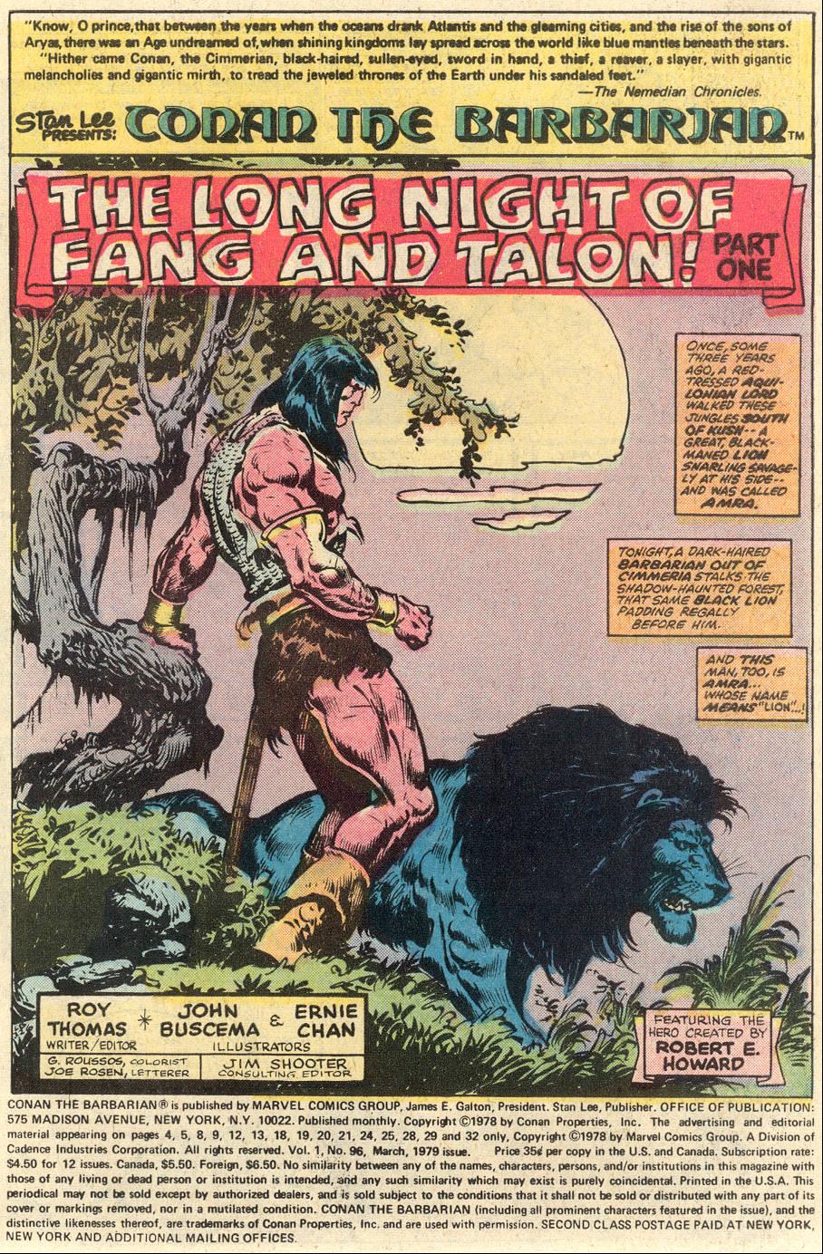 Conan the Barbarian (1970) Issue #96 #108 - English 2
