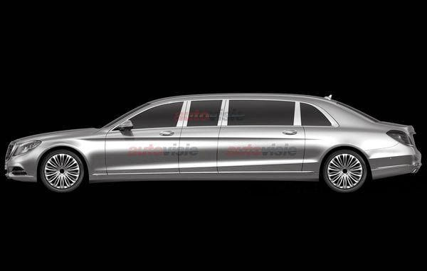 Mercedes-Benz S-Class Pullman Photos