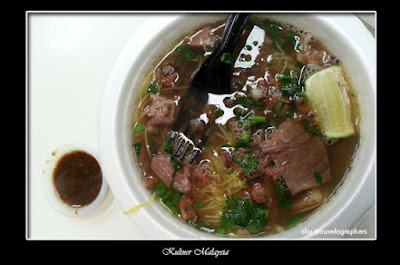 kuliner malaysia, cuisine, cullinary, food, melayu, sup bihun utara