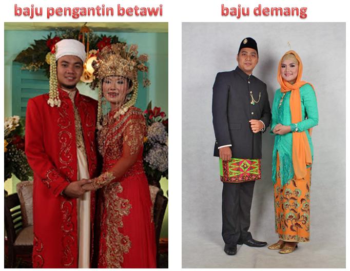 Pakaian tradisional Jakarta biasa disebut dengan nama Pakaian Adat ...