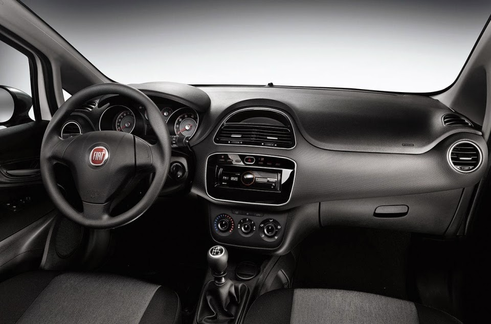 Fiat Punto Young interior