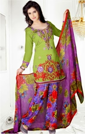 Best Patiala Suits 2014
