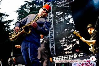 Saxofonista de Madness