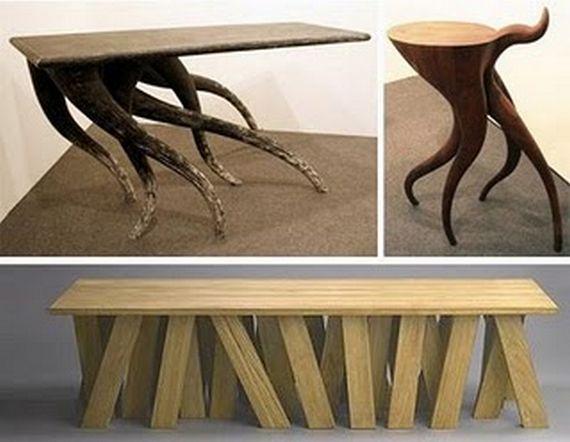 Столы и стулья из дерева своими руками