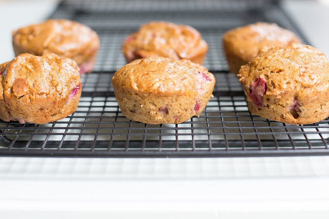 Strawberry Muffins | Gluten and Dairy Free